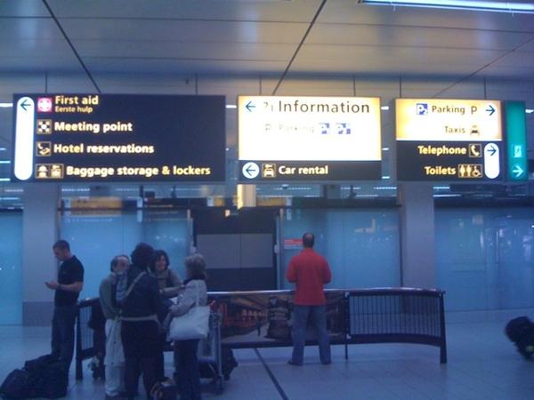 Ouders ophalen van Schiphol. Daarna #IlseDeLange in Groesbeek