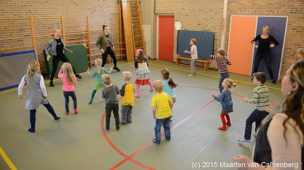 Op #bso @kctven #rosmalen was vanmiddag een workshop #hiphop vanwege @WeekvdOpvoeding