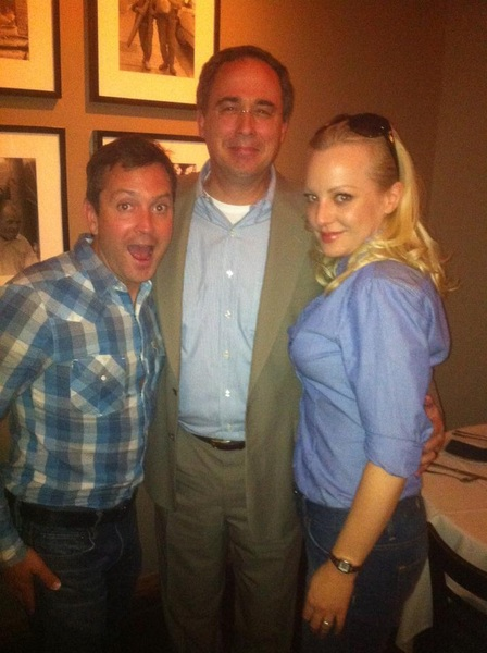Thomas Lennon (Reno 911! anyone?), Atlanta lawyer Bill Custer & Wendy McLendon-Covey. #whattoexpectwhenyoureexpecting