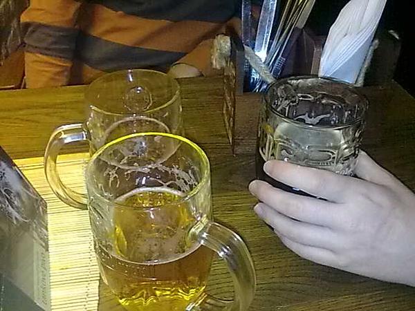 Drinking #Pivo at #prague