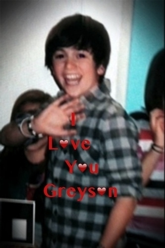@greysonchance this pic is from the music video shoot! I had a blast! Let's do it again!