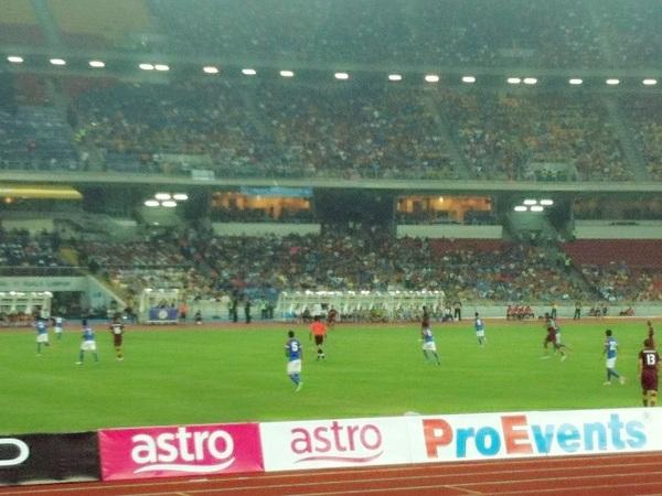 Malaysia XI - 1  Manchester City - 3 #Stadium Nasional Bukit Jalil #TeamMalaysia #MCFC