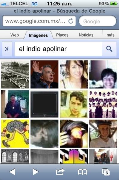 """Me di a la tarea de buscar la foto del remix de """"El Indio Apolinar"""" y este fue el resultado --> cc  @uchafuyc"""