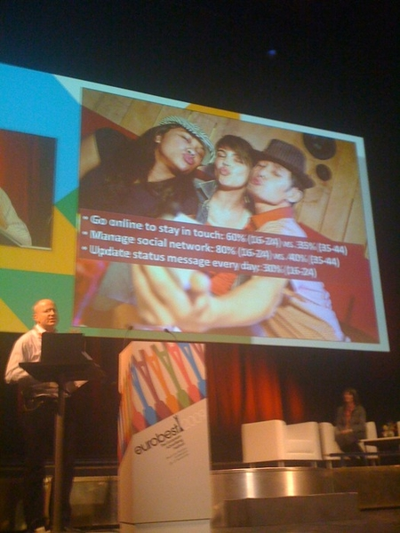 alex dale cmo  microsoft on social media: #eurobest : younger equals more social