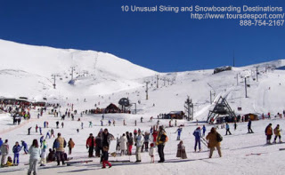 10 Unusual Skiing and Snowboarding Destinations