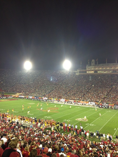 Kickoff USC vs. ND