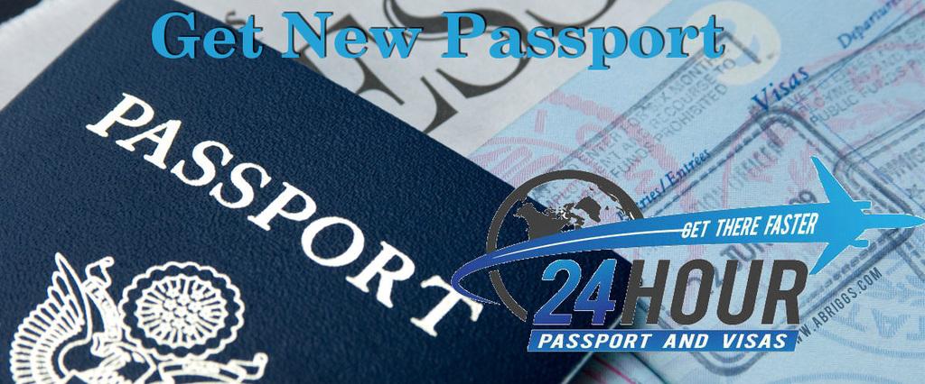 Get a new passport in U.S.