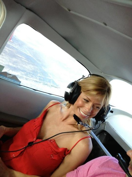 This is #ALEXISFAWX on a plane...