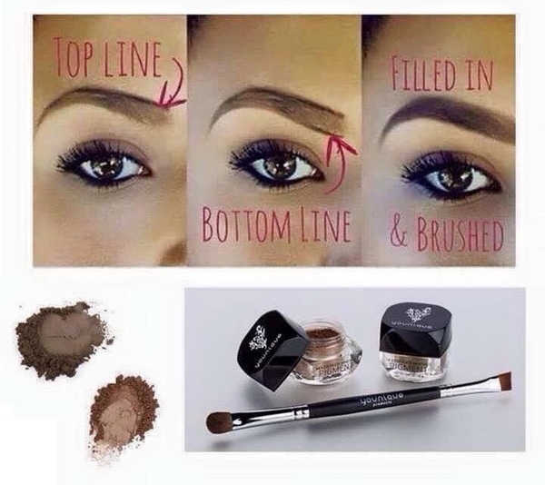 Tomorrow is the last day for this Younique Kudos! These pigments are so versatile, brows/shadow  Beautybykimmykat.com