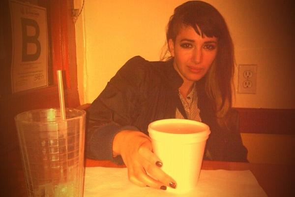 """Dinner in the 'hood w/ Ashley, cuz we """"B"""" gangsta. #ThaiEagleRox"""