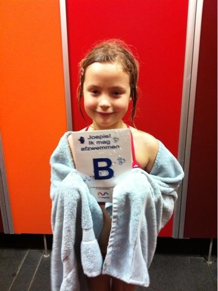 Proud girl!