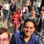 De Mini Kamerplant Fietstour vandaag was een mega succes!! met @arnowellens als tourguide vanaf @amstartfair - Woensdag organiseren we weer een busexcursie. Je kan nog mee! #kamerplanttour www.facebook.com/kamerplanttour
