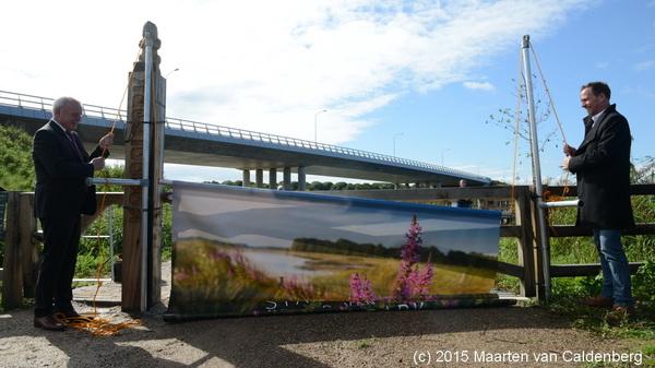 Vanmorgen was de officiële opening #kanaalpark #rosmalen door @Johanvandenhout @JosvanSon @shertogenbosch