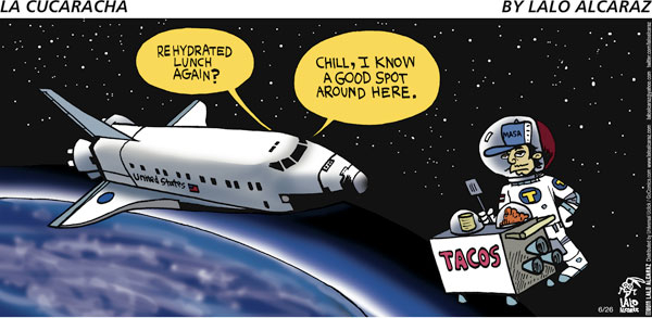 Image result for tacos in space with