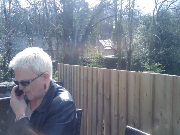 Sunshine, mum and #coffee