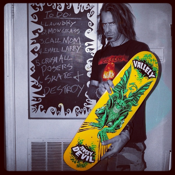 Showing respect to the 2 things that have NEVER let me down & have ALWAYS brought sunshine into my life- sk8ing & music