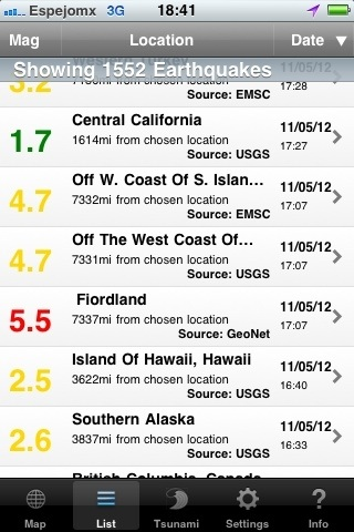 RT @espejomx 17:00 fue 17:07 en Fiordland Nueva Zelanda nótese como las dos agencias cambian la magnitud  de 5.5 a 4.7