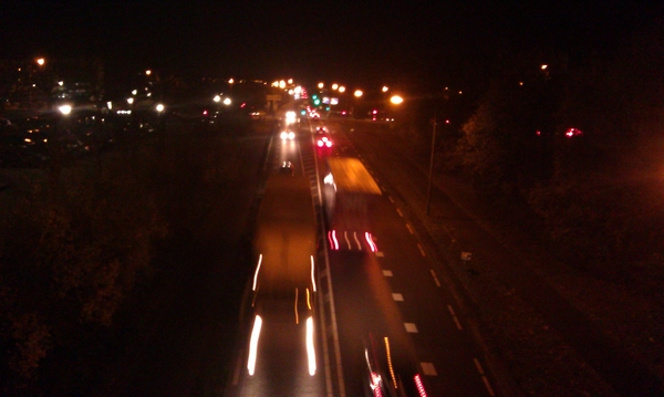 Rijnbrug by night