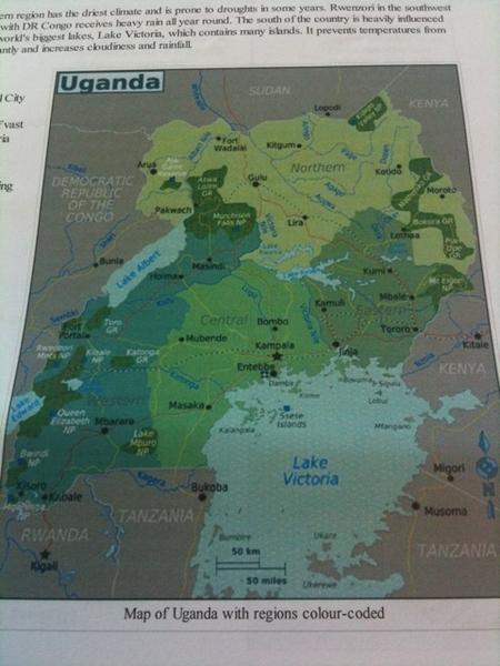 WikiTravel document over Uganda