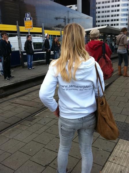 Gaaf! http://www.samenrijden.nl staat op Rotterdam CS met iPad ivm staking morgen. Is dat jouw actie @mdebruin ?