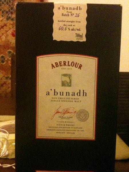 Aberlour single cask to start the weekend!