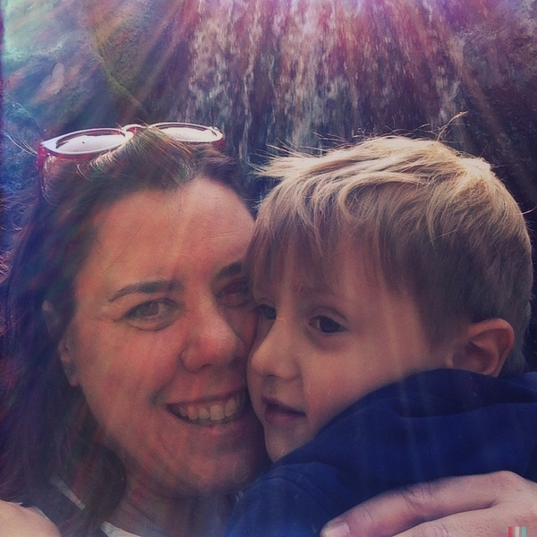 Fletcher of The Day: mama and Fletcher