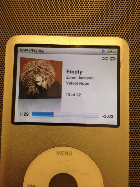 Empty - Janet Jackson. One of my favorite songs of all time. /via @DillonJaden. A  #Gem off of one of her Very Best!