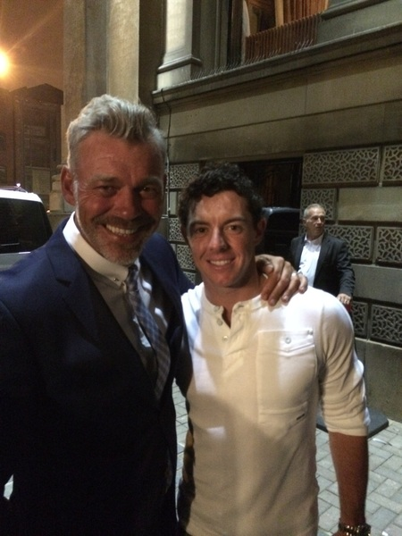 There is only 1!! The world no 1  @McIlroyRory! #rydercupprep