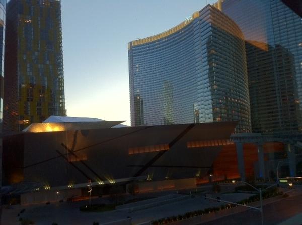 The dazzling new Aria Hotel, Las Vegas #CES