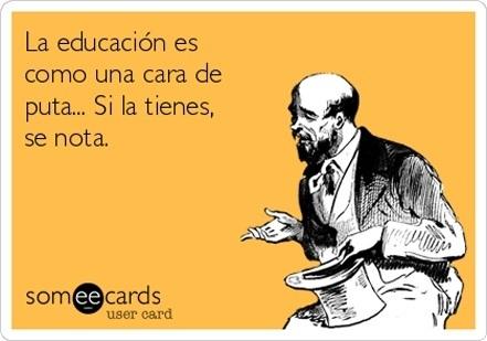 #Educacion ....