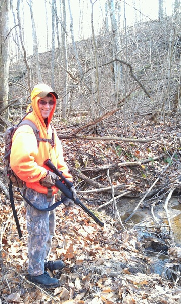 Great day in the woods with the little brother.  No deer but good times and sore muscles.