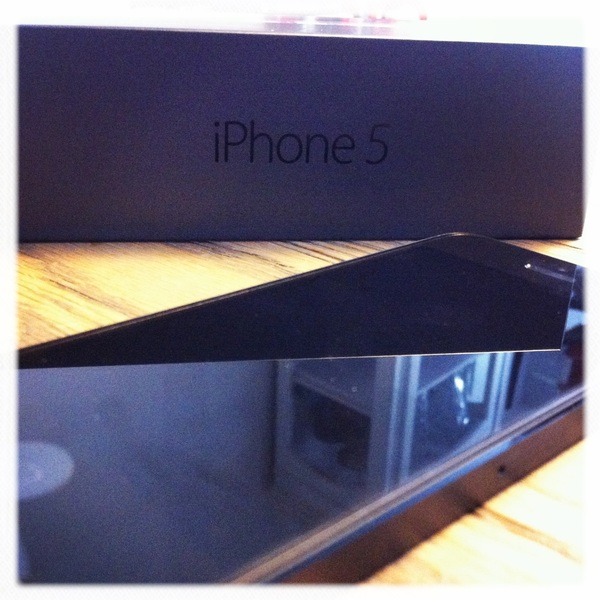 Hello baby, I've been expecting you #iPhone5