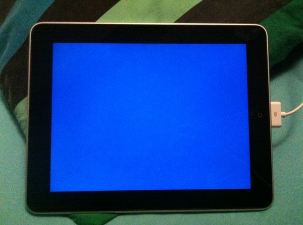 iPad BSOD? Its seriously bricked now...