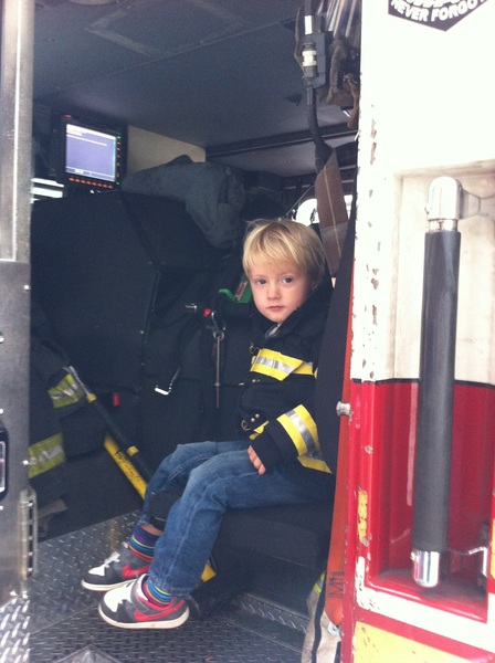 Fletcher of the day: fire engine