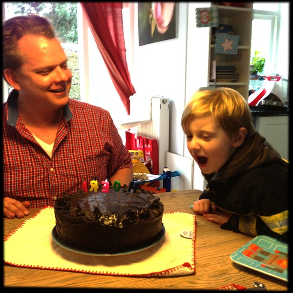 Fletcher of the Day: Birthday cake