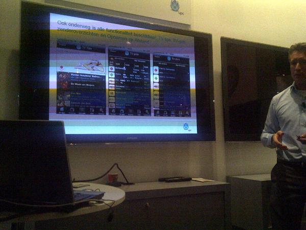 Mark giesbers upc laat opnemen op afstand zien vanuit pc/mobiel, reminders met sms notificatie etc #ibc2010 inc iphone app.
