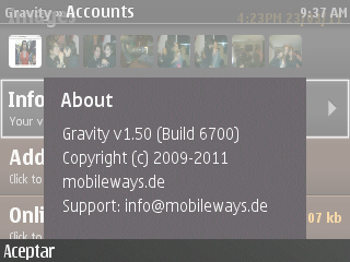 #Gravity actualizado