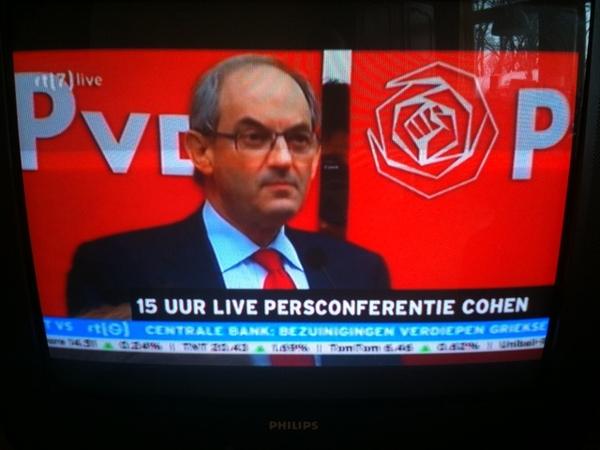 Cohen op TV