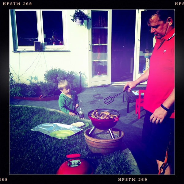 Fletcher of the day:  BBQ