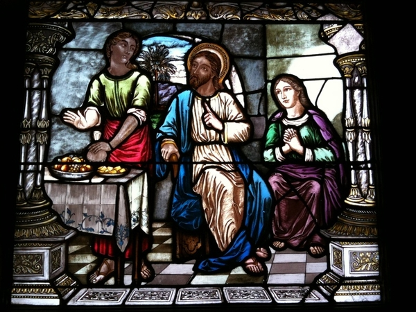 "Scenes from the Bible: ""We're gonna share the Awesome Blossom, and could you bring us some breadsticks?"""
