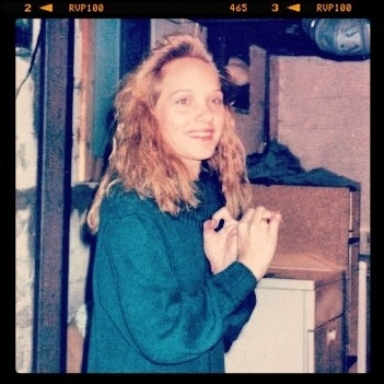 Me...circa 1991 or 1992. Not sure. Holy hair! #throwbackthursday RT @RealMSavage @HitandMissKarla haha nawwwww