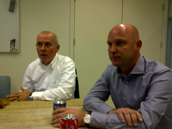 Interview Patrick Morley en Marc de vries CEO hyves over de overname