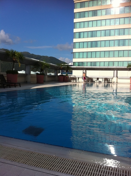 Look at how glorious today started. Now sitting at my desk refreshed, ready to take the world! Bring it! ☛