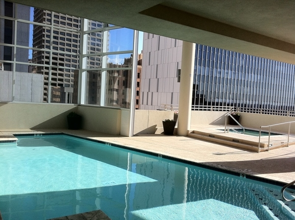 Pool all to myself :) time to reflect....