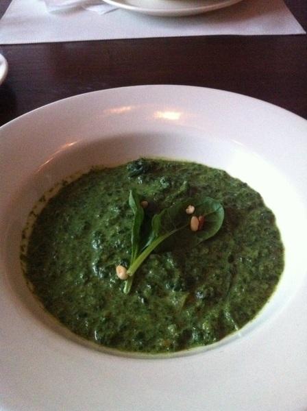 Gang nr 2 spinazie cokos soep mjammie! #chef #lekker
