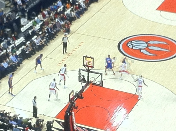 Birds eye view of #Linsanity ...