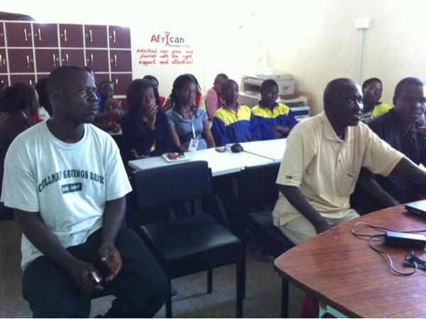 Our #Afri_can staff participating during theory part