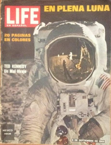 A la venta Revista LIFE 8sep1969 Hombre llega a la luna  #luna #coleccionistas #RT