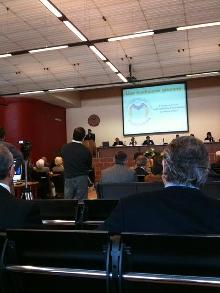 """Oggi alla conferenza """"I quarant'anni dell'Istituto Pininfarina di Moncalieri"""""""