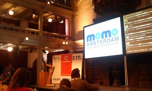 "Zaal, vanaf puntje ""bloggers"" ;) #momo"